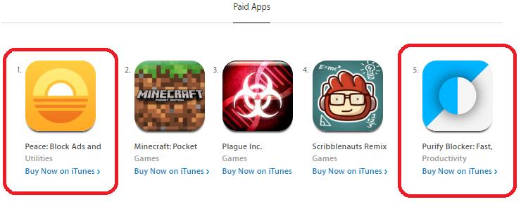 AppStore - Top Paid Screenshot
