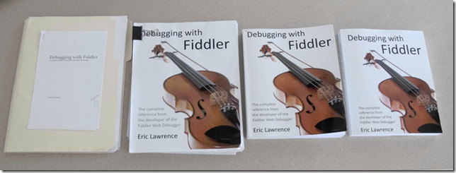 Fiddler draft copies