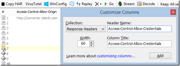 Add a custom column