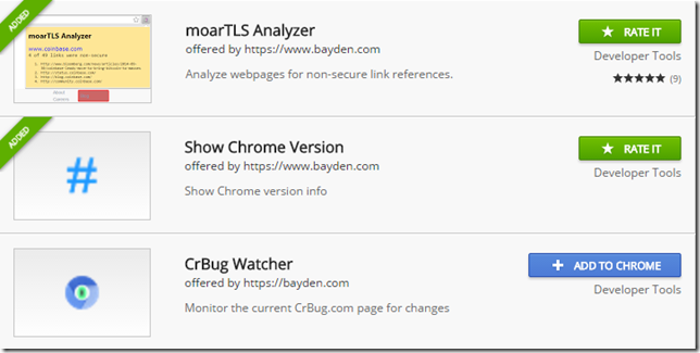 My 3 Chrome Extensions
