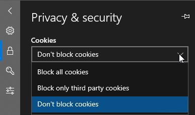 CookieSetting