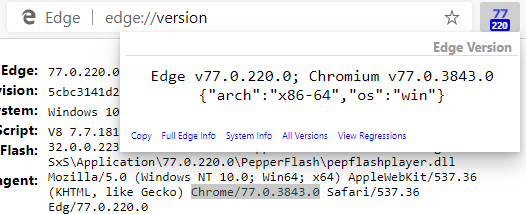 ShowChromeVersion